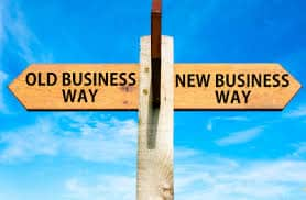old business way new business way